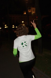 Laura Smidt beim Vienna Nightrun